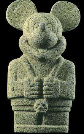 Ospina's pre-Columbian Mickey.