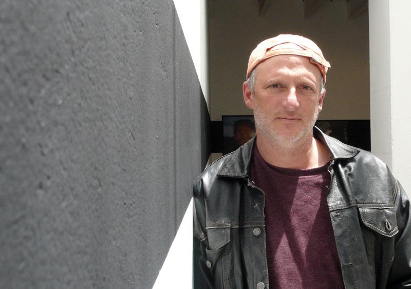 Photojournalist Stephen Ferry in Bogotá.