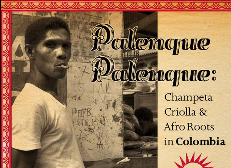 Cover art work of the Palenque! Palenque! album.