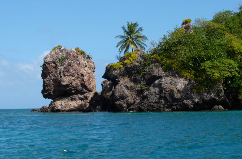 Morgan's head on the island of Providencia.