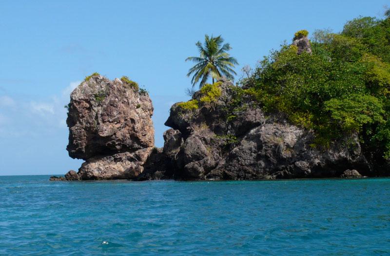 Morgan's head on the island of Providencia.