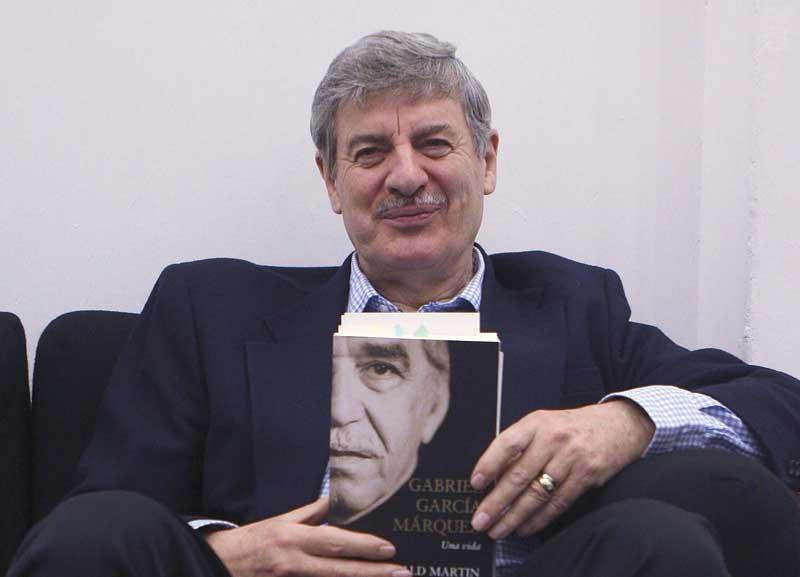 The official biographer of Gabo, Gerald Martin.