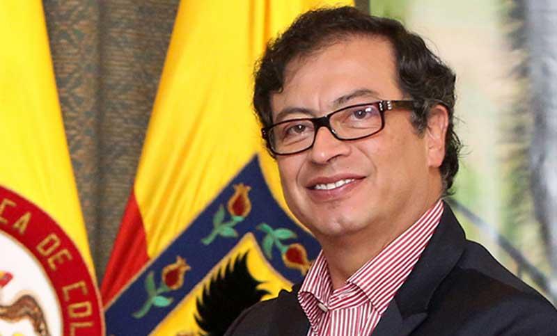 Gustavo Petro, Mayor of Bogota.