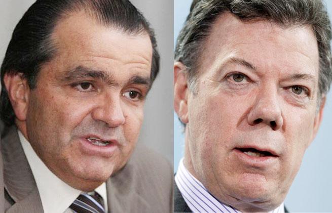 Santos to face Zuluaga June 15th in run-off election.