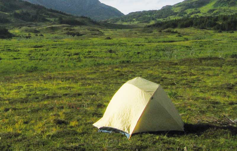 Colombia offers spectacular views for campers.