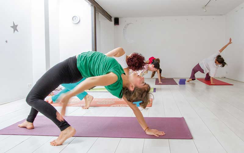 Explore some of Bogotá's yoga studios.