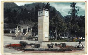 The Bauhaus clock in Parque Nacional.