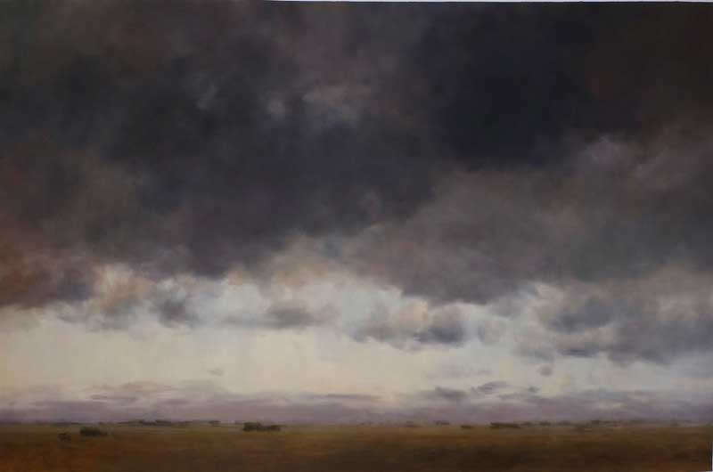 The clouds of Colombian artist Carlos Nariño.