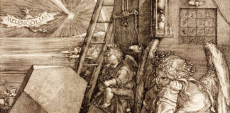 Aspect of Melencolia by Albrecht Dürer.