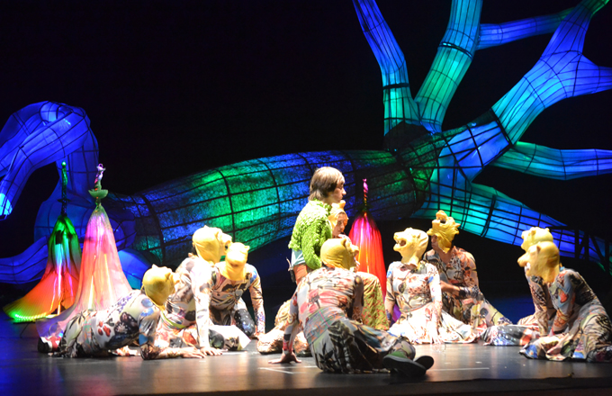 Handout image of the Colombian production of Orfeo.