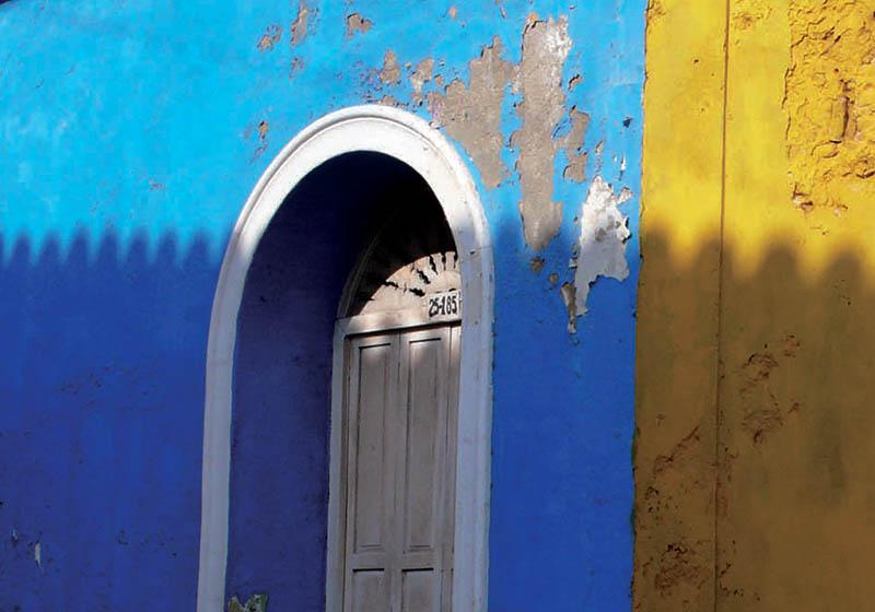 The painted doorways of Getsemani, Cartagena,