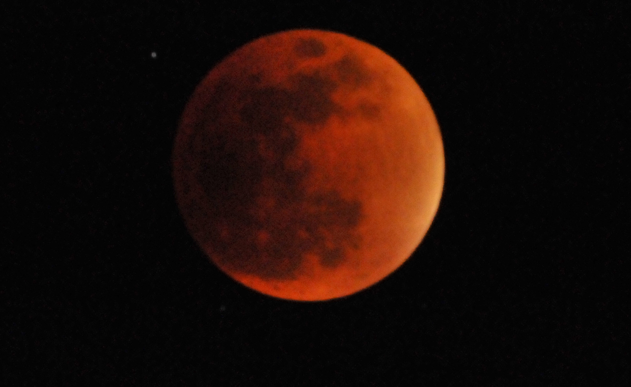 Blood Supermoon eclipse