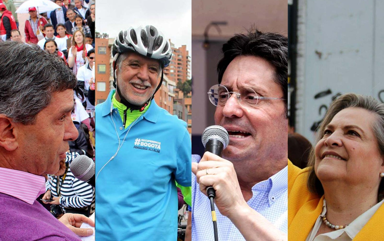 Candidatos alcaldia de Bogota