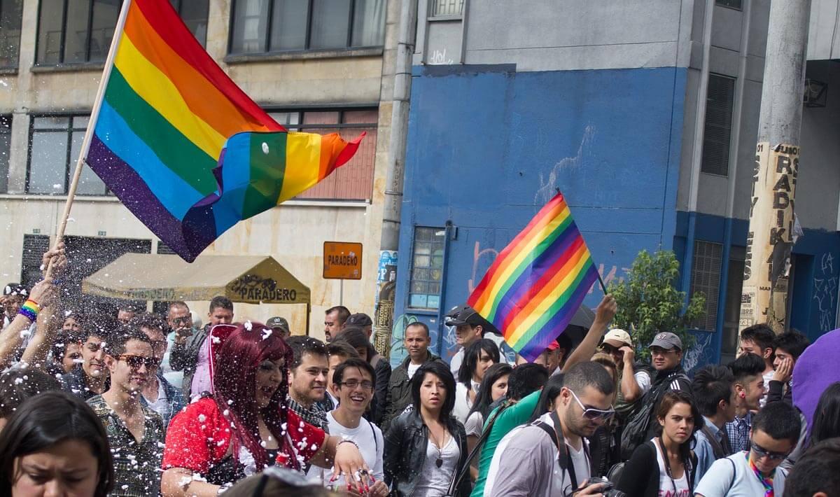 Bogota celebrates gay pride in 2012