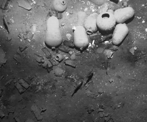 Wreckage of the San José galleon. (Courtesy MinCultura)