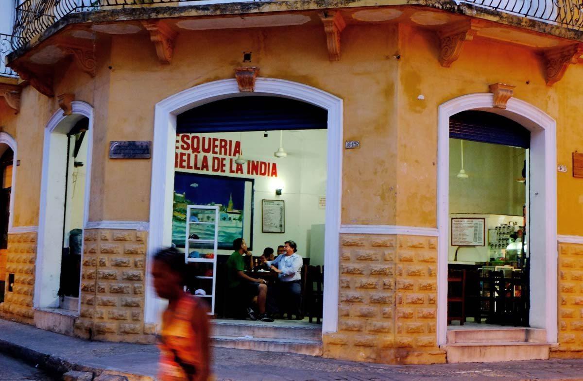 Magic hour in Cartagena