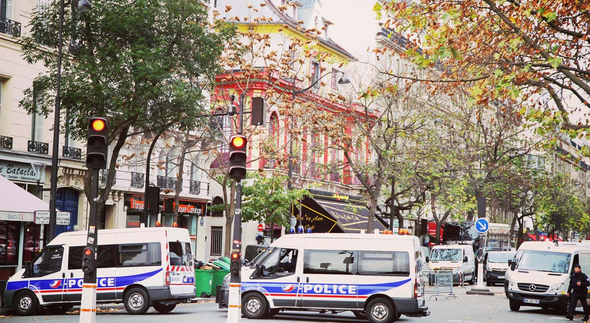 French police investigate after the Nov. terrorist attack in Paris