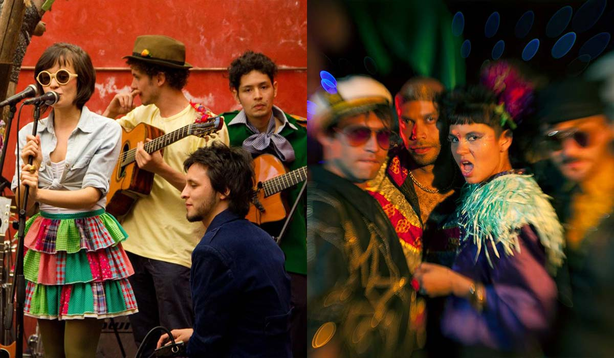 Bomba Estereo and Monsieur Periné