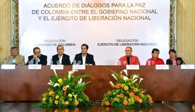 ELN and Colombian Government