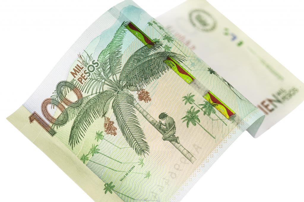 $100,000 peso bill
