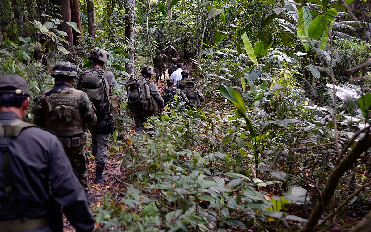 Until April, Colombia's National Police were solely responsible for combating bacrim, now known as organized armed groups.