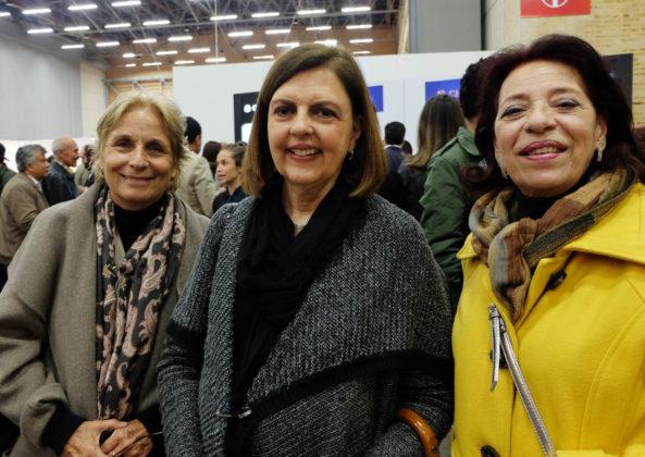 Tutua Boshell, Maria Paz Jaramillo, Eugenia Cardenas.