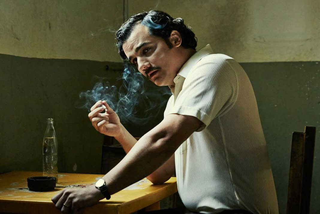 Wagner Moura plays Pablo Escobar in the hit Netflix series