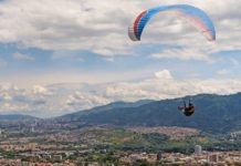 Outdoor extreme sports in Colombia