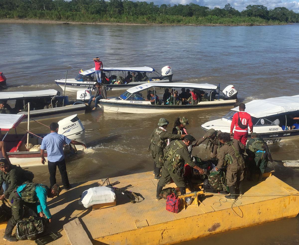 Colombian gov't, ELN begin peace talks