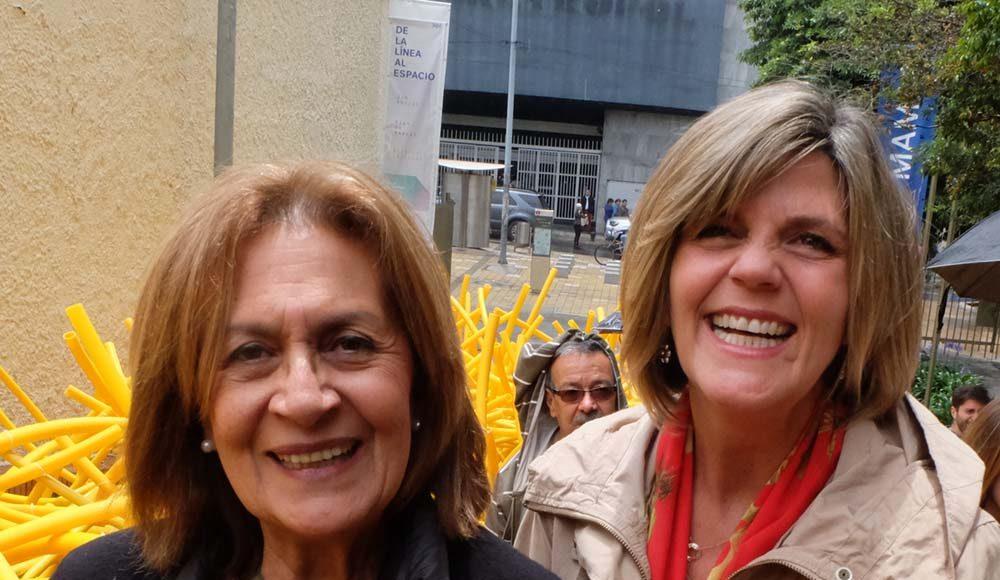 Art critic María Cristina Pignalosa, Elsa Pizano