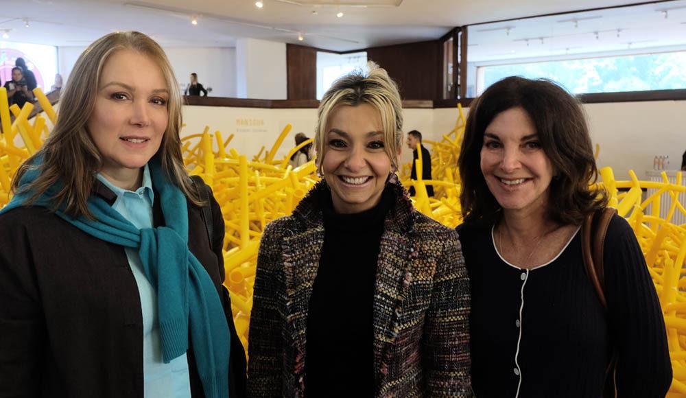 Carmenza Suarez, Vicky Turbay, Iris Ramler