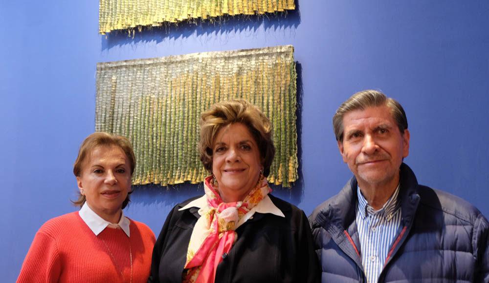 Matilde Rosenberg, María Victoria Robayo, Alvaro Robayo.