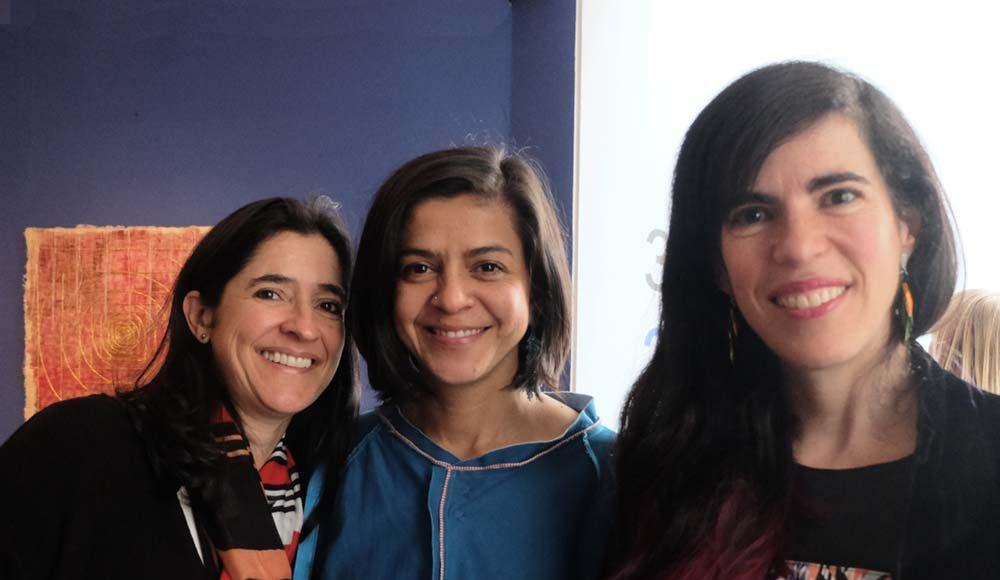Natalia Sáenz, Nelly Peñaranda, Adriana Marmorek