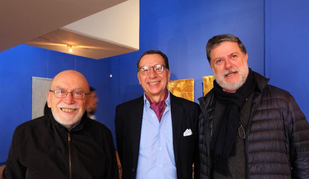 Julio Carrizosa, Ernesto Cavalier, Luis Serrano.