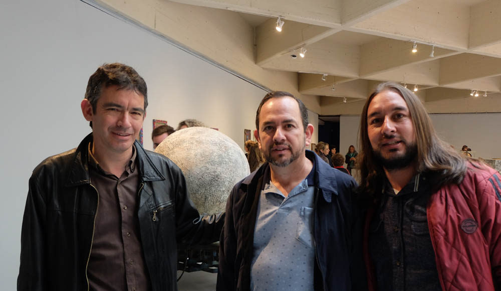 Photographer Orlando Salgado, Gustavo Sanabria, Yon Navarro.