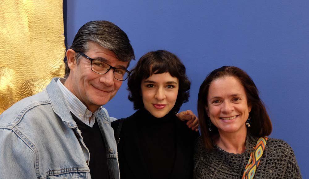 Luis Fernando Castillo, artist Rossina Bossio, Pilar Cabrera