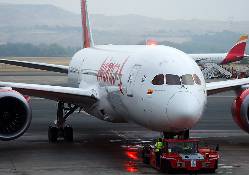 Avianca Suspends Flights to and from Caracas Beginning Today