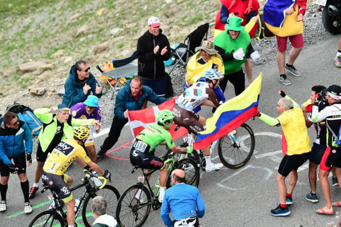 Colombia's flag to be raised in Tour de France in honor of