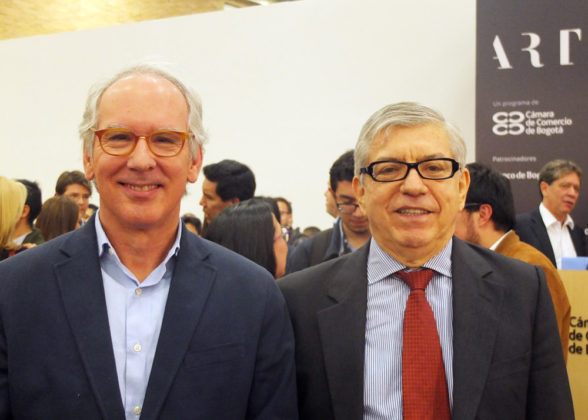 Andrés Pardo, President César Gaviria.