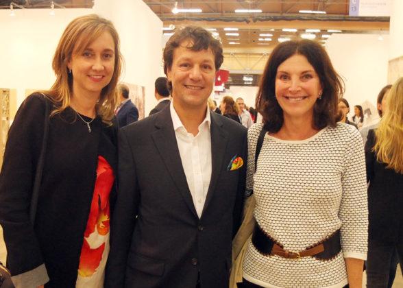 Laura Velasqúez, Alejandro Ortiz, Iris Ramler.