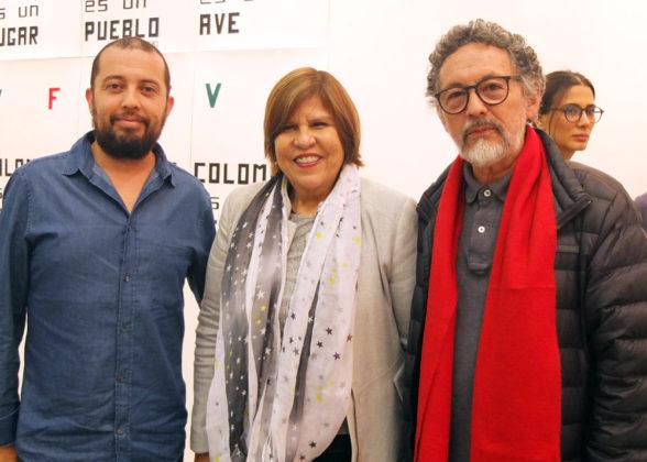 David Osorio, Fabiola Morera, Jairo Osorio.