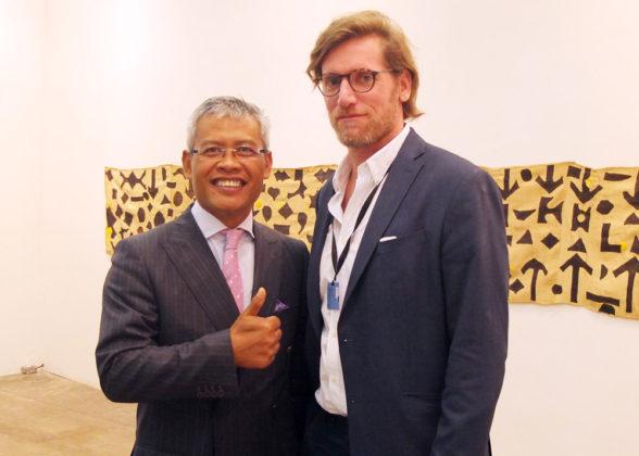 Indonesian Ambassador Priyo Iswanto, Joao Azinheiro.