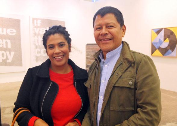Zoraida Iguarán, Carlos Jacanamijoy.