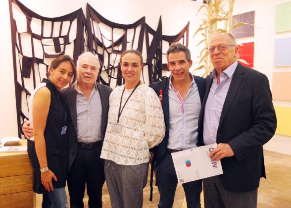 Manuela Velasqúez, Enrique Serrano, Ricardo Cárdenas, Enrique Santos.
