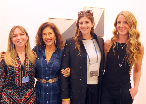 Ayesha Shand, Lucinda Bellm, Bettina Santo Domingo, Clio Goldsmith.