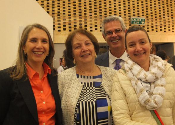 María Luisa Peña, Cecilia Rodríguez, Alberto Sanín, Cecilia Eugenia Peña.