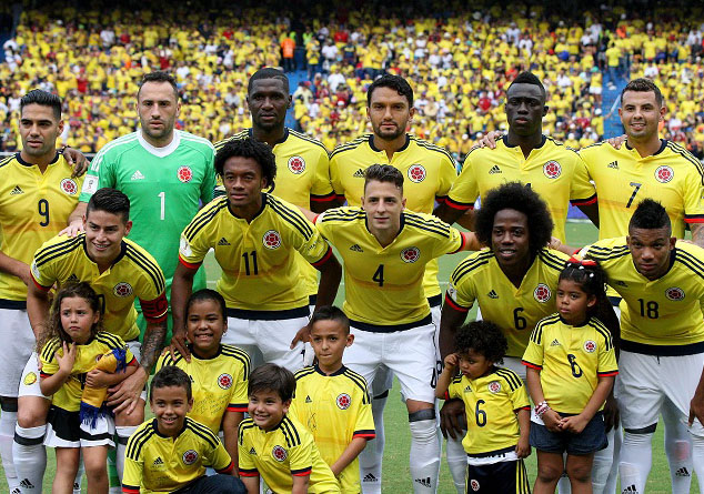 Colombia Qualifies For Russia  World Cup On Final Matchday Against Peru
